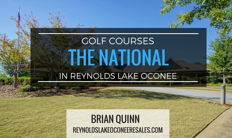 the national golf course at reynolds lake oconee